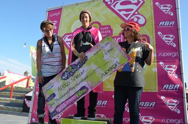 Supergirl Jam Results 2011