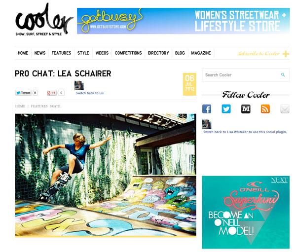 Cooler   Pro Chat: Lisa Schairer