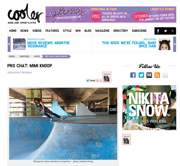 Cooler | Pro Chat: Mimi Knoop