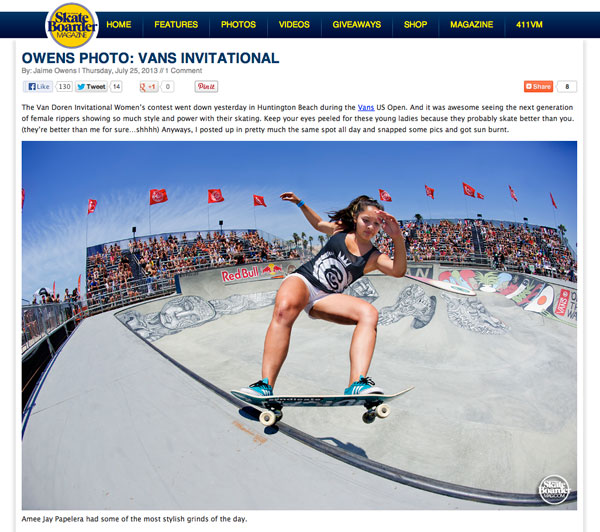 Skateboarder Magazine – US Open