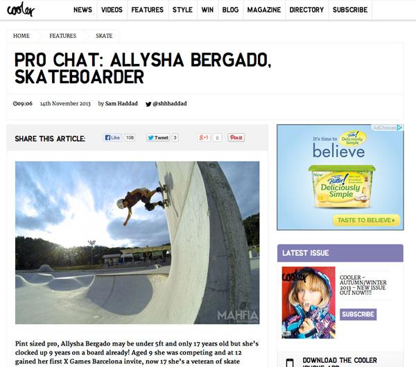 Cooler   Pro Chat: Allysha Bergado