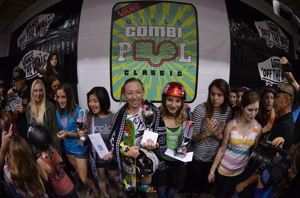 Vans Girls Combi Pool Classic Results 2014