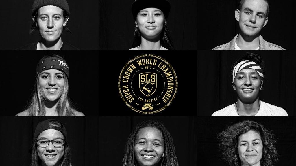 2017 SLS Women's Super Crown Line Up