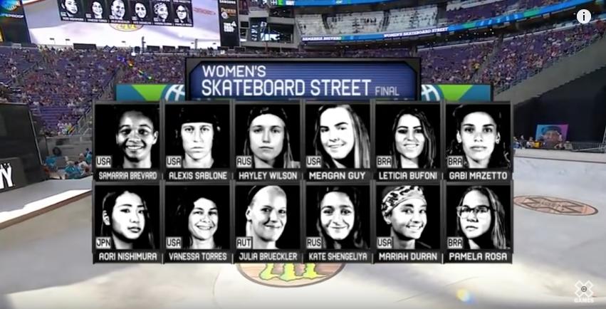 X Games Minneapolis | Women's Street Final 2017