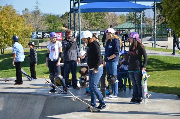 All Girl Skate Jam Fontana