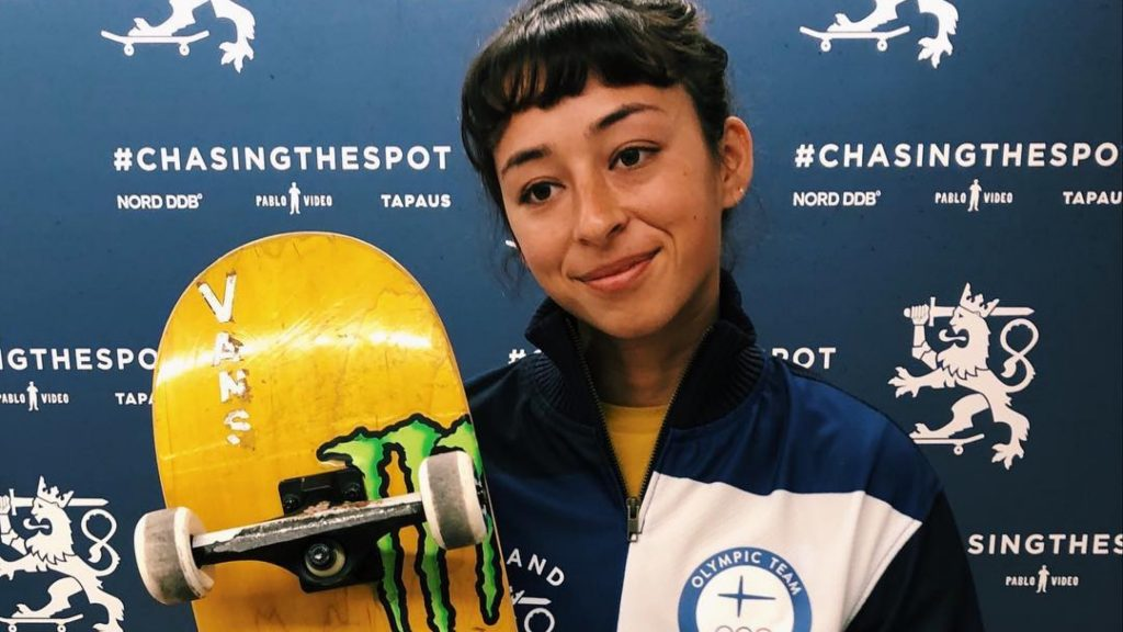 Lizzie Armanto Joins Finland's Olympic Team