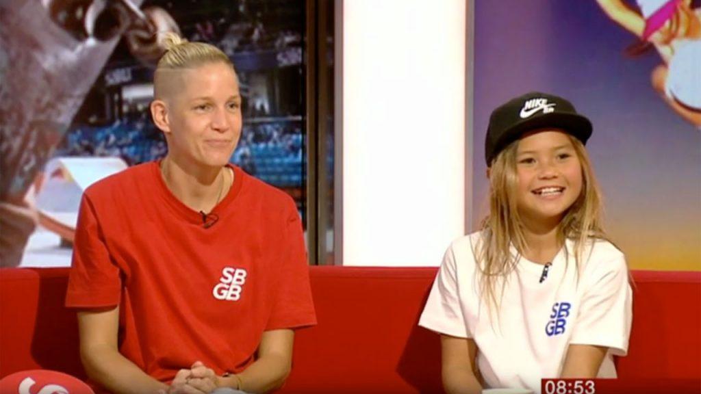 BBC Breakfast | Sky Brown Olympic Dream
