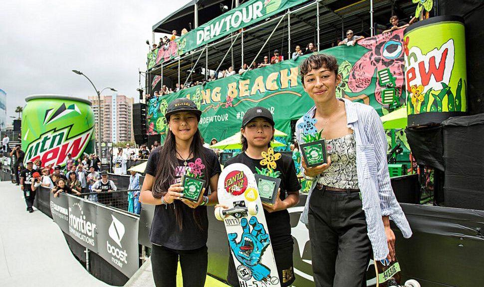 Dew Tour Women's Park Results 2019