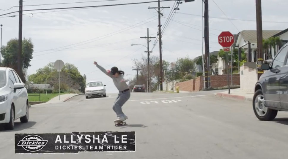 Dickies   Allysha Le Behind The Board Interview