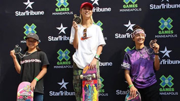 X Games Women's Street Results 2019