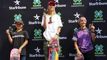 X Games Women's Street Results 2019