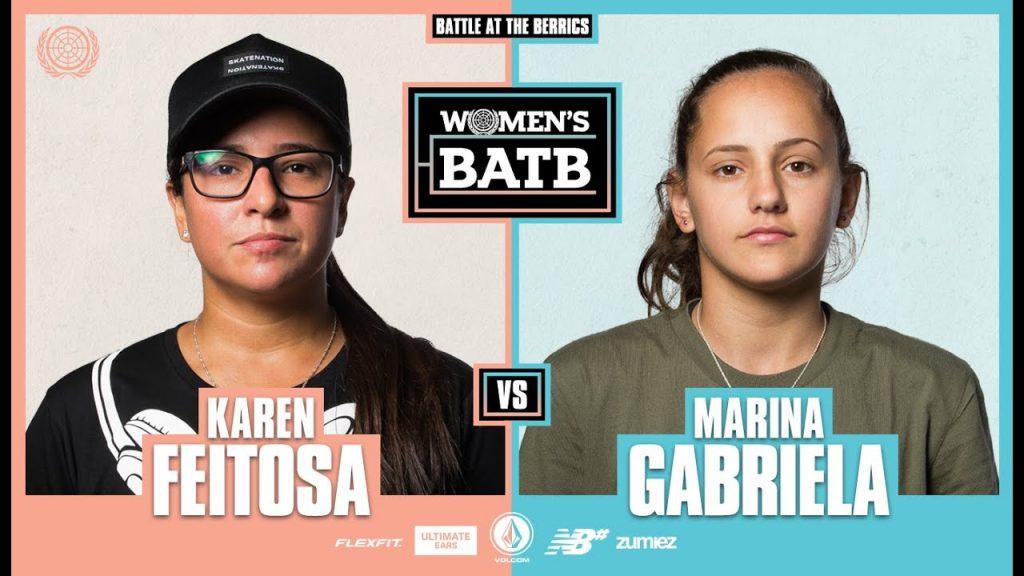 WBATB Round 1 | Karen Feitosa vs. Marina Gabriela