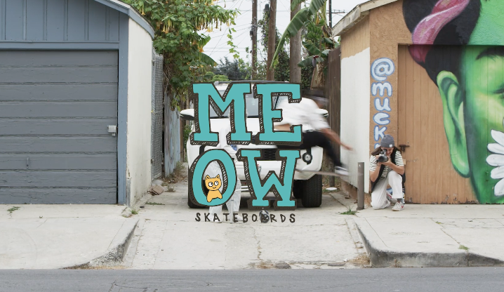 "TWS Skate and Create | Meow Skateboards ""Grandma"""